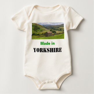 Made in Yorkshire Infant Creeper