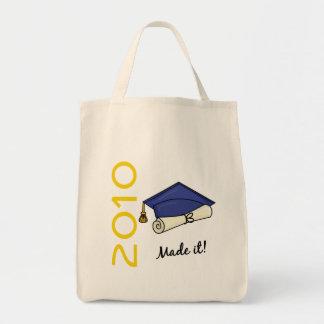 Made It Graduation Cap and Diploma Tote Bag