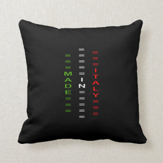 made italy throw pillow