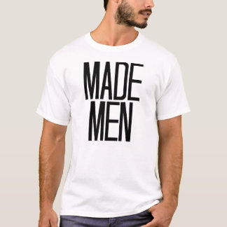 Made Men T-shirt in white