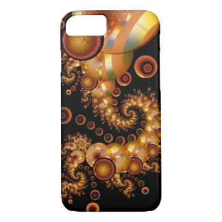 Made of Gold, abstract spiral iPhone 8/7 Case
