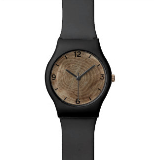 Made of wood watch