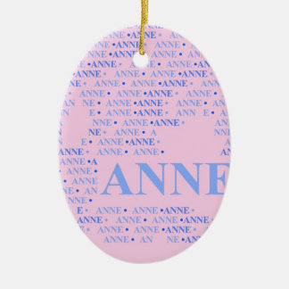 Made of Words ANNE Christmas Ornaments