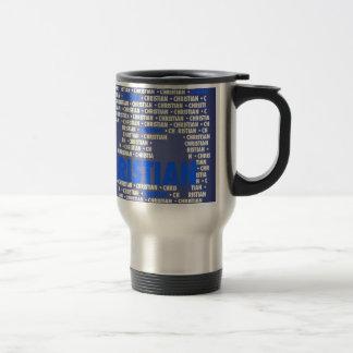 Made of Words CHRISTIAN Coffee Mugs