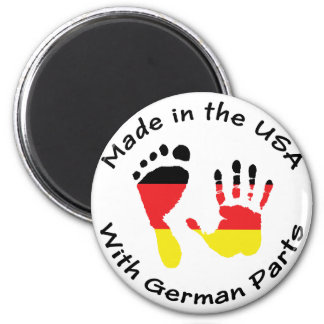 Made With German Parts Magnet