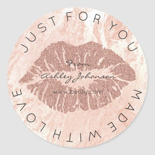 Made With Love Blush Lipstick Rose Pin Makeup
