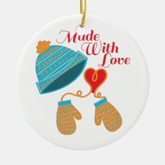 Made With Love Christmas Ornament