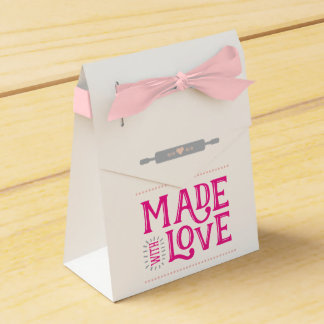 Made With Love Favor Box