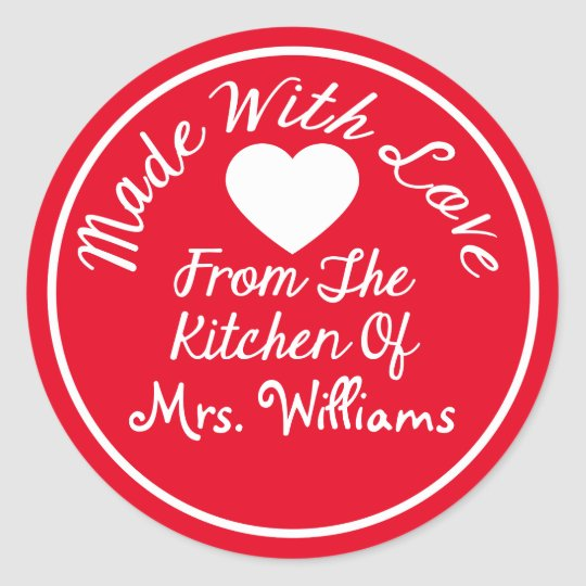 Made With Love From The Kitchen Of Classic