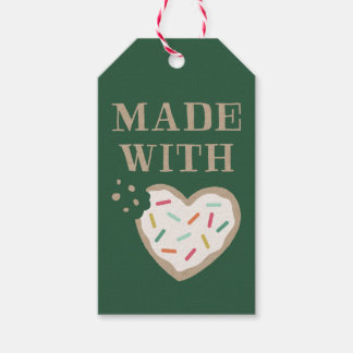 Made with Love Gift Tag - Pine