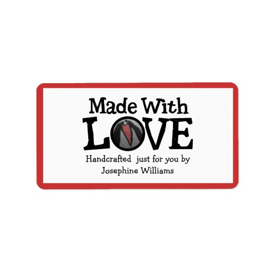 Made with Love - Handmade Gift Tag