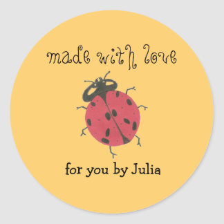 """Made With Love"" label"