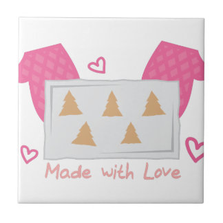 Made With Love Small Square Tile