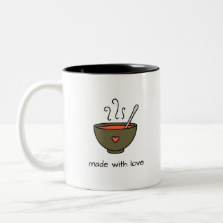 Made With Love Soup Mug