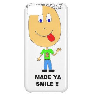 made ya smile iPhone 5C case