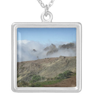 Madeira Above The Clouds necklace, customize Silver Plated Necklace