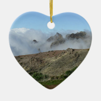 Madeira Above The Clouds ornament, customize Christmas Ornament