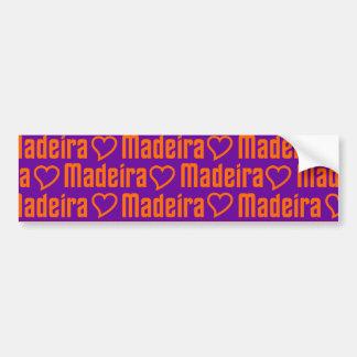MADEIRA bumbersticker Bumper Sticker