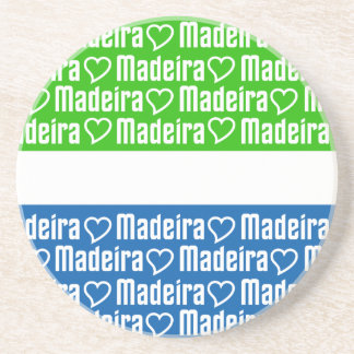 Madeira coaster, customize coaster