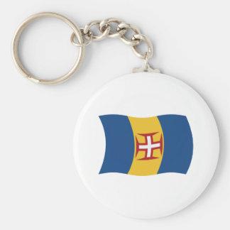 Madeira Flag Keychain