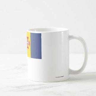 Madeira Flag Classic White Coffee Mug