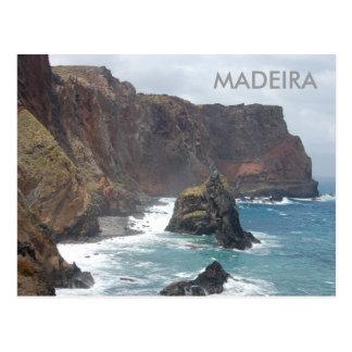 Madeira island postcard