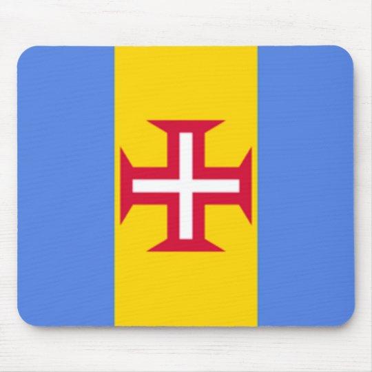 Madeira Islands Flag Mousepad