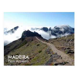 MADEIRA, Pico Areeiro Postcard