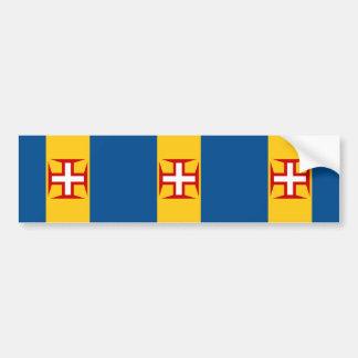 Madeira, Portugal Bumper Sticker