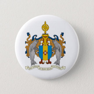 Madeira (Portugal) Coat of Arms 6 Cm Round Badge