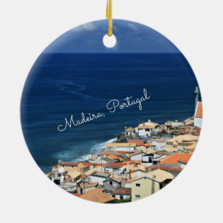 Madeira, Portugal landscape photograph Christmas Ornament