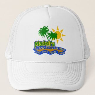 Madeira State of Mind hat - choose color