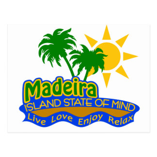 Madeira State of Mind postcard