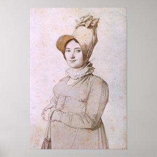 Madeleine Chapelle  1813 Poster