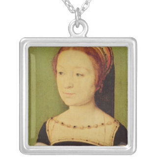 Madeleine de France  Queen of Scotland, 1536 Silver Plated Necklace