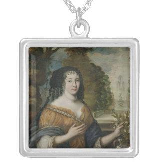 Madeleine de Scudery Silver Plated Necklace