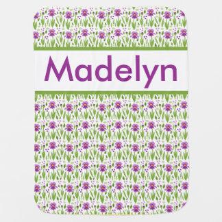 Madelyn's Personalized Iris Blanket Pramblanket