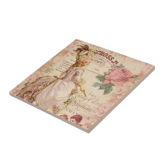 Mademoiselle Couture Tile