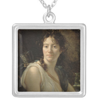 Mademoiselle Duchesnoy in the Role of Dido Silver Plated Necklace