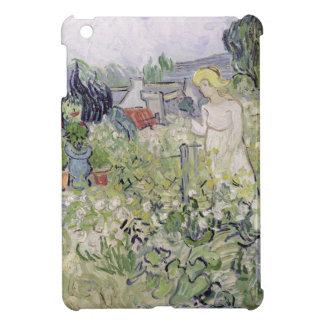 Mademoiselle Gachet in her garden Cover For The iPad Mini