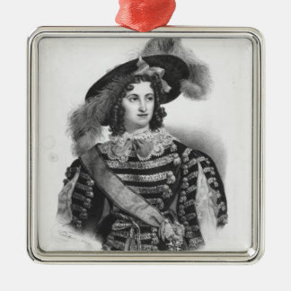 Mademoiselle George in the role of Queen Christmas Ornament