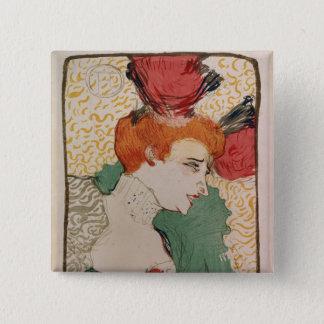 Mademoiselle Marcelle Lender, 1895 15 Cm Square Badge