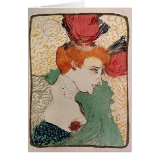 Mademoiselle Marcelle Lender, 1895 Greeting Card