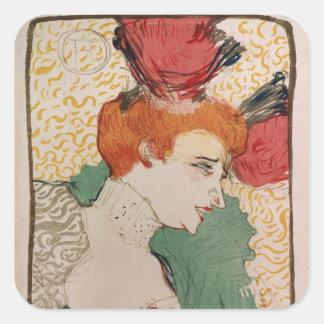 Mademoiselle Marcelle Lender, 1895 Square Sticker
