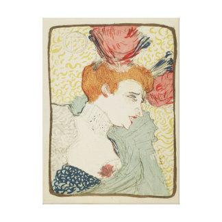 Mademoiselle Marcelle Lender by Toulouse Lautrec Canvas Print