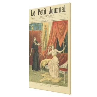 Mademoiselle Sibyl Sanderson  and Monsieur Jean Canvas Print