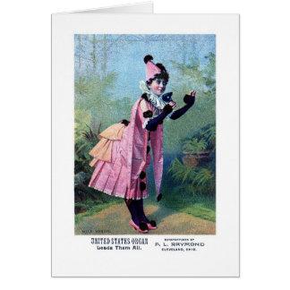 Mademoiselle Vanoni Greeting Card