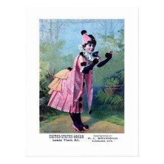 Mademoiselle Vanoni Post Card