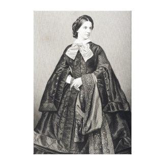 Mademoiselle Victoire Balfe Canvas Print