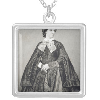 Mademoiselle Victoire Balfe Silver Plated Necklace